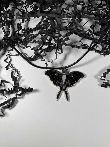 Large Changeling Moth Charm/ Pendant