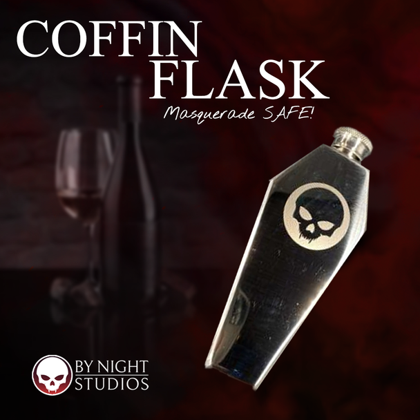 Coffin Flask with BNS Skull