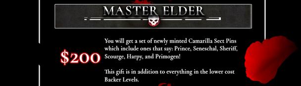 Master Elder Tier