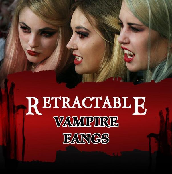 Retractable Vampire Fangs
