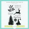 Christmas Silhouettes Clear Stamp Set