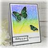 Skeleton Leaf Background Clear Stamp