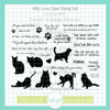 Kitty Love Clear Stamp Set