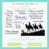 We Three Kings Clear Stamp Set