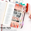 Creative Worship: All of Me Alpha Clear Stamp Set