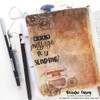 Creative Worship: Classy Script Alpha Clear Stamp Set
