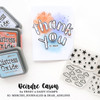 Creative Worship: Outline Alpha Clear Stamp Set