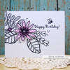 Scribble Flowers Clear Stamp Set
