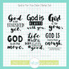God is For You Clear Stamp Set