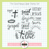 Creative Worship: The Good News Clear Stamp Set