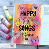 Creative Worship: Sing Loud Clear Stamp Set