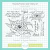 Peaceful Peonies Clear Stamp Set