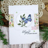 Mason Jar Bouquet Clear Stamp Set