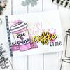 Creative Worship: Mini Grunge Type Alpha Clear Stamp Set
