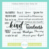 Kindness Matters Clear Stamp Set