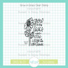 Grow in Grace Clear Stamp Single
