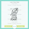 Leave It Clear Stamp Single