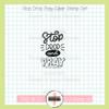 Creative Worship: Stop Drop Pray Clear Stamp Single