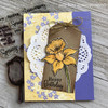 Spring Blossoms Clear Stamp Set