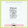 Creative Worship: Bring Him Glory Clear Stamp Single