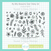 Itty Bitty Blossoms Clear Stamp Set
