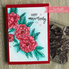 Scripty Thoughts Clear Stamp Set