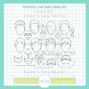Brotherly Love Clear Stamp Set