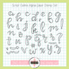 Creative Worship: Script Outline Alpha Clear Stamp Set