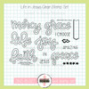 Creative Worship: Life in Jesus Clear Stamp Set