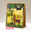 Llama Love Clear Stamp Set