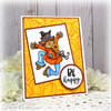 Happy Scarecrow Digital Stamp