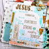 Creative Worship: Mighty Fortress Clear Stamp Set