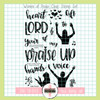 Creative Worship: Women of Praise Clear Stamp Set