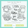 11th Birthday Throwback: Cocoa's Cups Clear Stamp Set