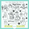 11th Birthday Throwback: Crazy About Snowmen Clear Stamp Set