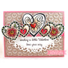 Filigree Hearts Clear Stamp Set