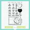 Heart Candy Clear Stamp Set