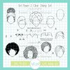 Girl Power 2 Clear Stamp Set