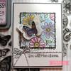 Doodle Florals Clear Stamp Set