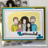 Stamp for a Cause: Surrounded in Prayer Clear Stamp Set