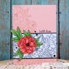 Peony Cluster Clear Stamp Set