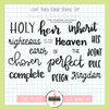 Creative Worship: Joint Heirs Clear Stamp Set
