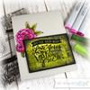 PREORDER Hymn Word Art Clear Stamp Set