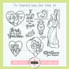 Creative Worship: The Shepherd's Voice Clear Stamp Set