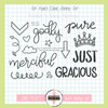 Creative Worship: Set Apart Clear Stamp Set