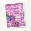 Sentimental Wordfetti Clear Stamp Set