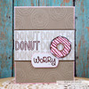 September Stamp of the Month:  Donut Worry Clear Stamp Set