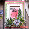 Succulents Clear Stamp Set