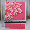 PREORDER Poinsettia Greetings Clear Stamp Set