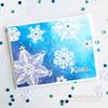 Folk Art Snowflakes Clear Stamp Set